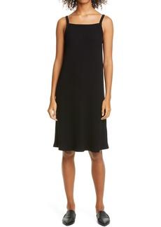 Eileen Fisher Rib Sleeveless A-line Dress