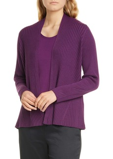 Eileen Fisher Ribbed Cardigan