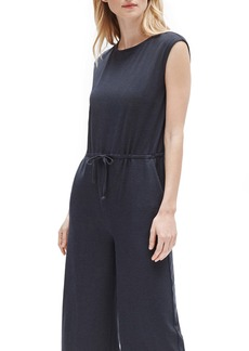 Eileen Fisher Ribbed Crop Jumpsuit