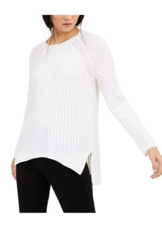 Eileen Fisher Ribbed High-Low Sweater