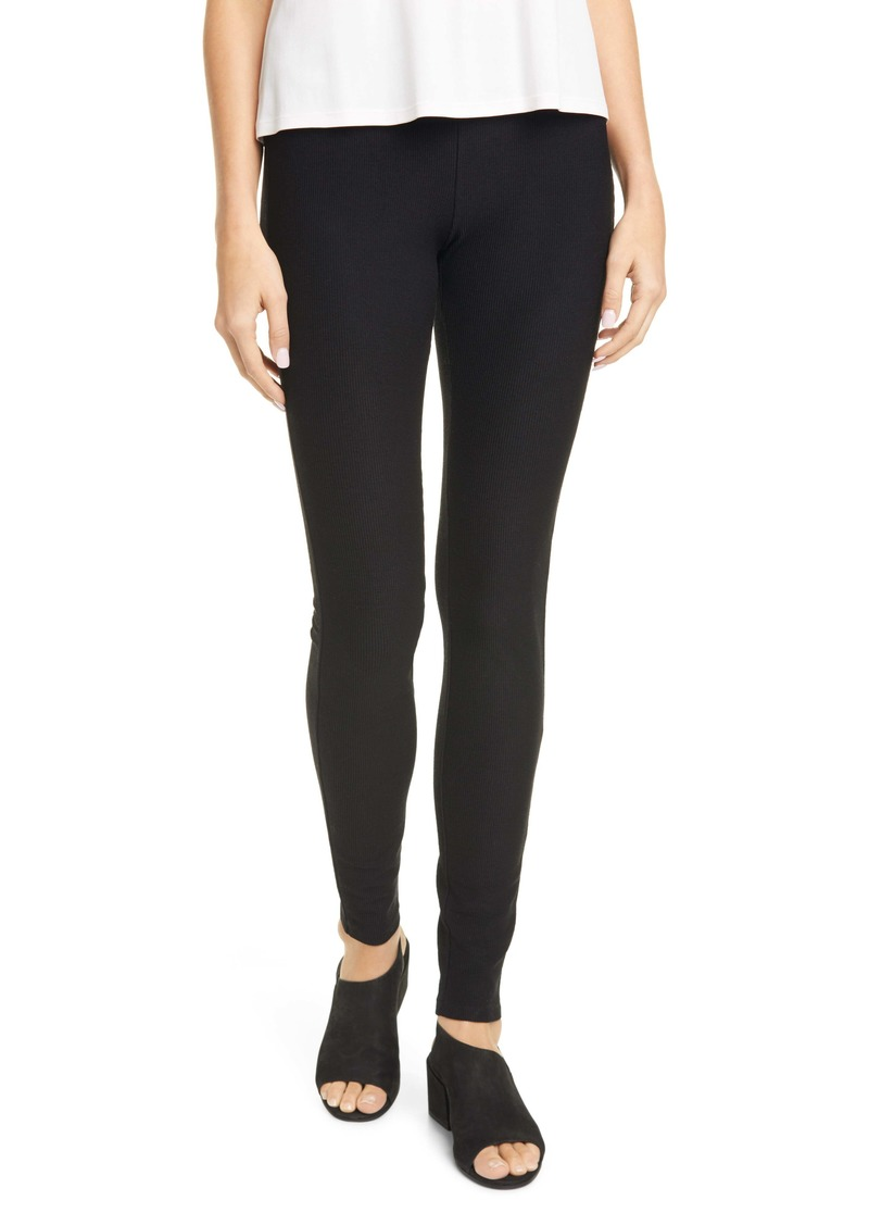 Eileen Fisher Ribbed Leggings