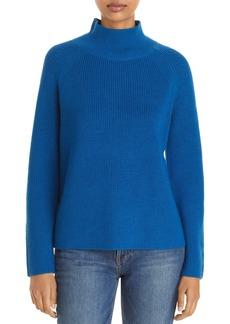 Eileen Fisher Ribbed Merino Wool Turtleneck Sweater