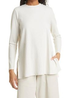 Eileen Fisher Ribbed Organic Cotton Tunic