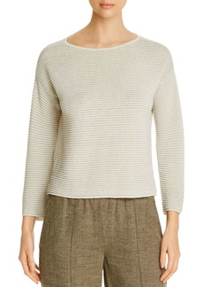 Eileen Fisher Ribbed Sweater