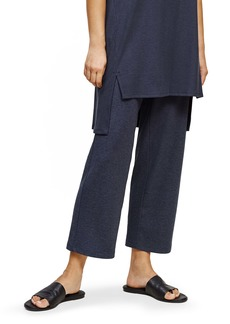 Eileen Fisher Ribbed Wide Leg Pants (Regular & Petite)