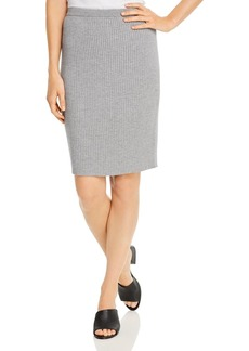 Eileen Fisher Ribbed Wool Pencil Skirt