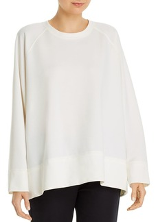 Eileen Fisher Round-Neck Sweatshirt
