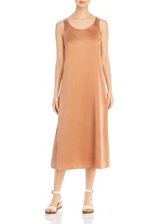 Eileen Fisher Scoop Neck Shift Dress