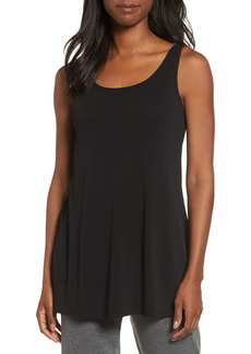 Eileen Fisher Scoop Neck Silk Tunic (Regular & Petite)