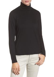 Eileen Fisher Scrunch Neck Top (Regular & Petite)