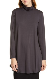 Eileen Fisher Scrunch Neck Tunic