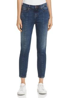 Eileen Fisher Seamed Crop Jeans in Aged Indigo - 100% Exclusive