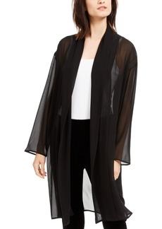 Eileen Fisher Semi-Sheer Kimono Jacket