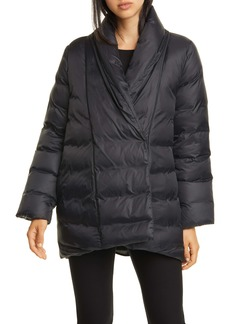Eileen Fisher Shawl Collar Down Coat