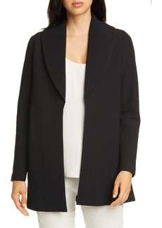 Eileen Fisher Shawl Collar Jacket