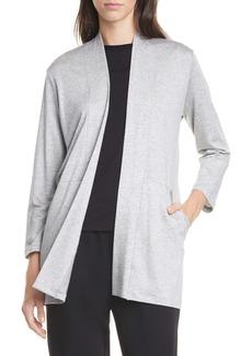 Eileen Fisher Shawl Collar Jacket (Regular & Petite)