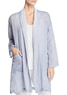 Eileen Fisher Shawl Collar Kimono Coat