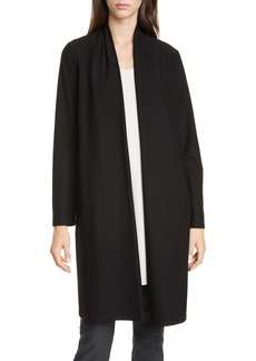 Eileen Fisher Shawl Collar Long Jacket