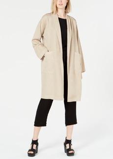 Eileen Fisher Tencel Shawl Collar Open Jacket