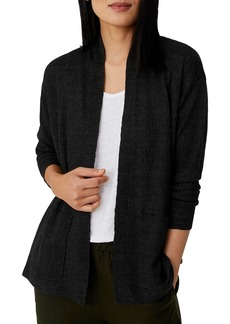 Eileen Fisher Shawl Collar Organic Linen Cardigan