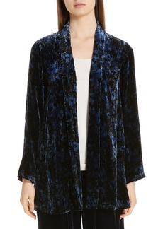 Eileen Fisher Shawl Collar Velvet Jacket