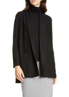 Eileen Fisher Shawl Collar Wool Vest