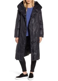 Eileen Fisher Shawl Hood Down Coat