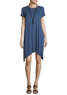 Eileen Fisher Short-Sleeve Jersey Dress