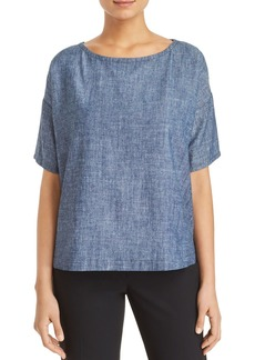 Eileen Fisher Short-Sleeve Top