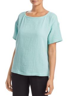 Eileen Fisher Short-Sleeve Top
