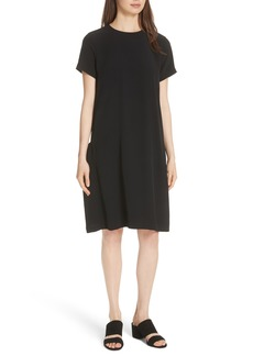 Eileen Fisher Side Pocket Shift Dress