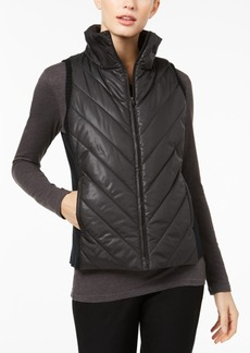 Eileen Fisher Side-Trim Puffer Vest, Regular & Petite