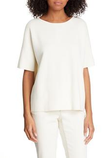 Eileen Fisher Silk & Cotton Sweater