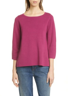 Eileen Fisher Silk & Organic Cotton Sweater