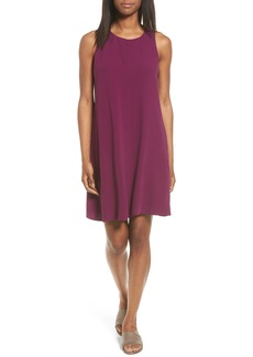 Eileen Fisher Silk A-Line Dress (Regular & Petite)
