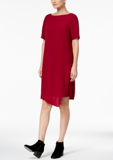 Eileen Fisher Silk Asymmetrical Dress, Regular & Petite