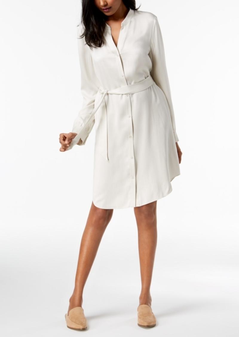 9011e09e86e Eileen Fisher Eileen Fisher Silk Belted Shirtdress