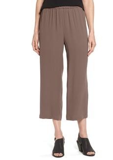 Eileen Fisher Silk Crop Pants