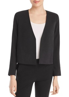 Eileen Fisher Silk Cropped Jacket