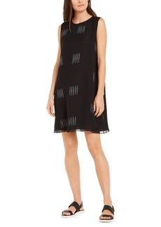 Eileen Fisher Silk Printed Shift Dress