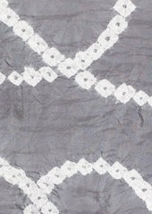 Eileen Fisher Silk Shibori Chains Scarf