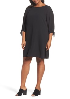 Eileen Fisher Silk Shift Dress (Plus Size)