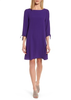 Eileen Fisher Silk Shift Dress (Regular & Petite)