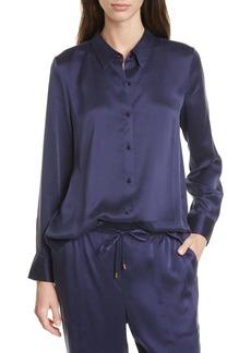 Eileen Fisher Silk Shirt (Regular & Petite)