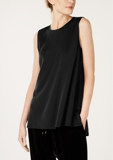 Eileen Fisher Silk Sleeveless Shell Top