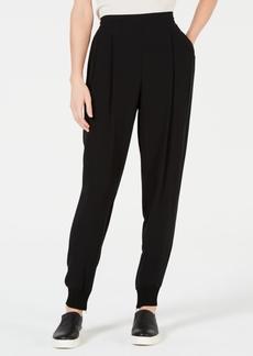 Eileen Fisher Silk Slouchy Cuffed Ankle Pants, Regular & Petite