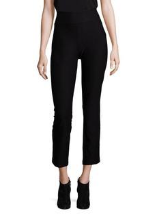 Eileen Fisher Silk Straight-Leg Ankle Pants