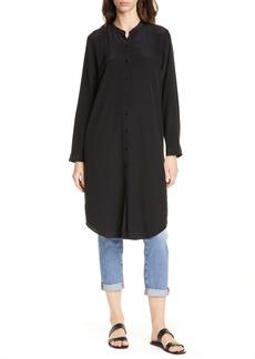 Eileen Fisher Silk Tunic Shirt
