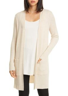 Eileen Fisher Simple Merino Wool Cardigan (Regular & Petite)