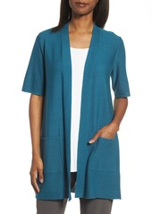 Eileen Fisher Simple Tencel® & Merino Wool Cardigan